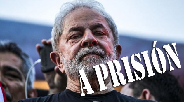 Decretan prisión a ex-presidente Lula da Silva