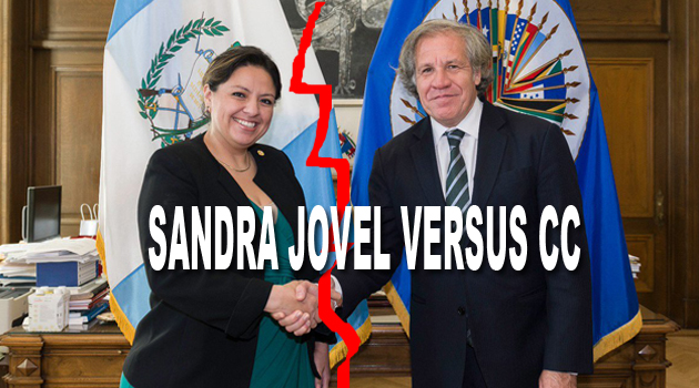 Ministra Sandra Jovel desafía a la Corte de Constitucionalidad