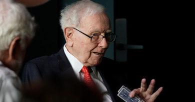 Warren Buffett pierde más de 4.000 millones en un día