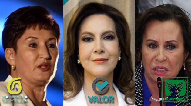 Candidatas encabezan encuestas en Guatemala